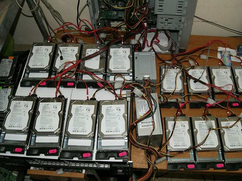 Server RAID Recovery